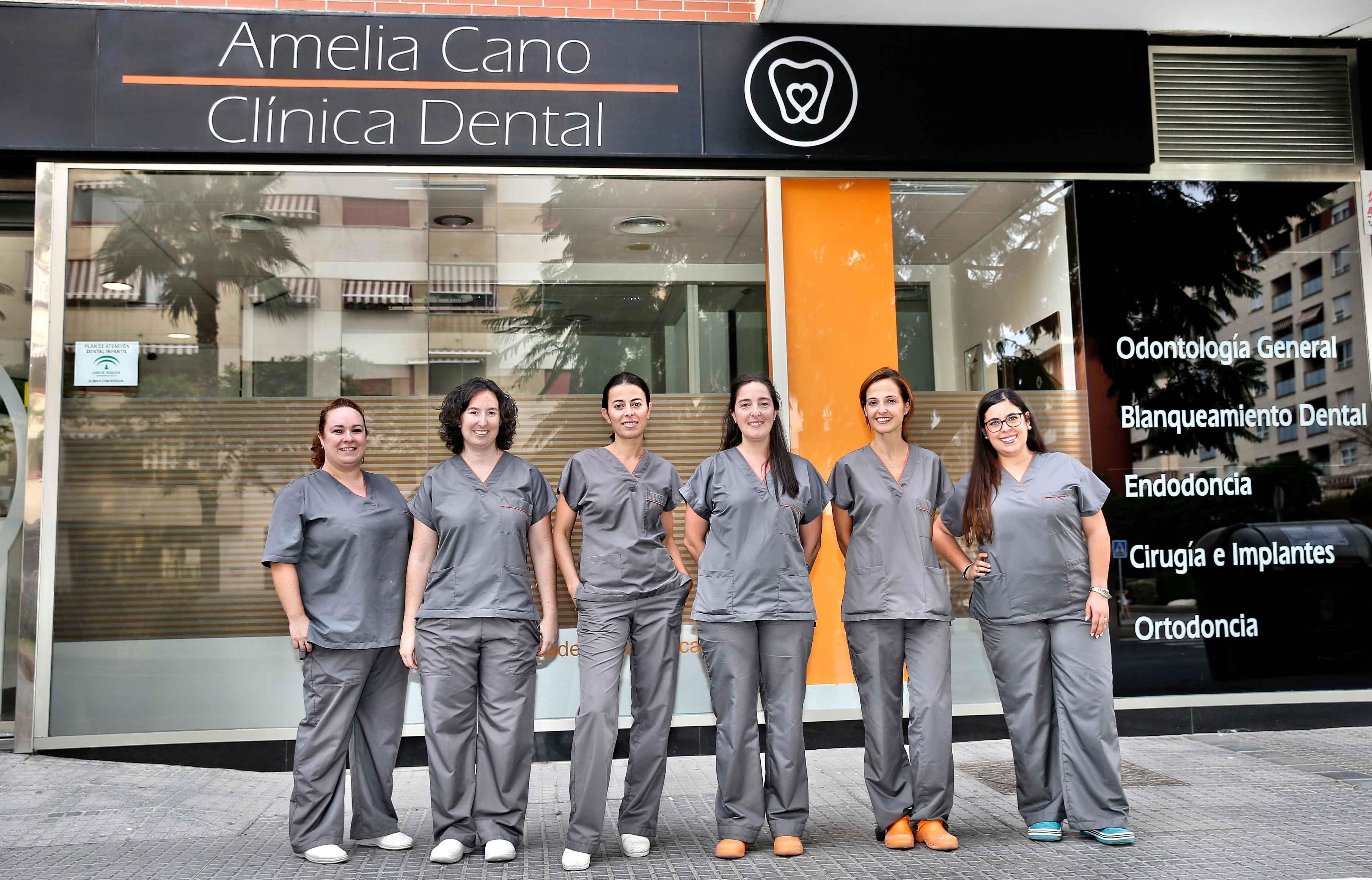 inicio-clínica-dental-amelia-cano-malaga-equipo